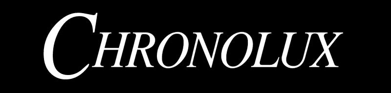 Chronolux logo vector