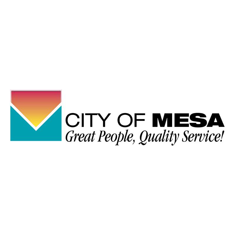 City of Mesa vector