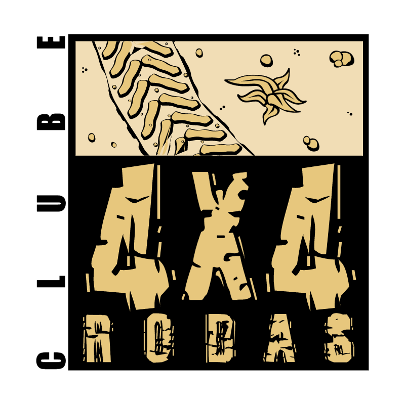 Clube 4X4 Rodas vector