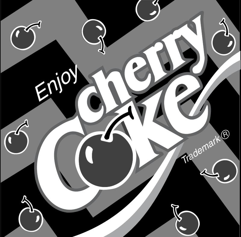 Coca Cola Cherry 2 vector