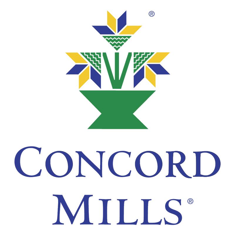 Concord Mills vector