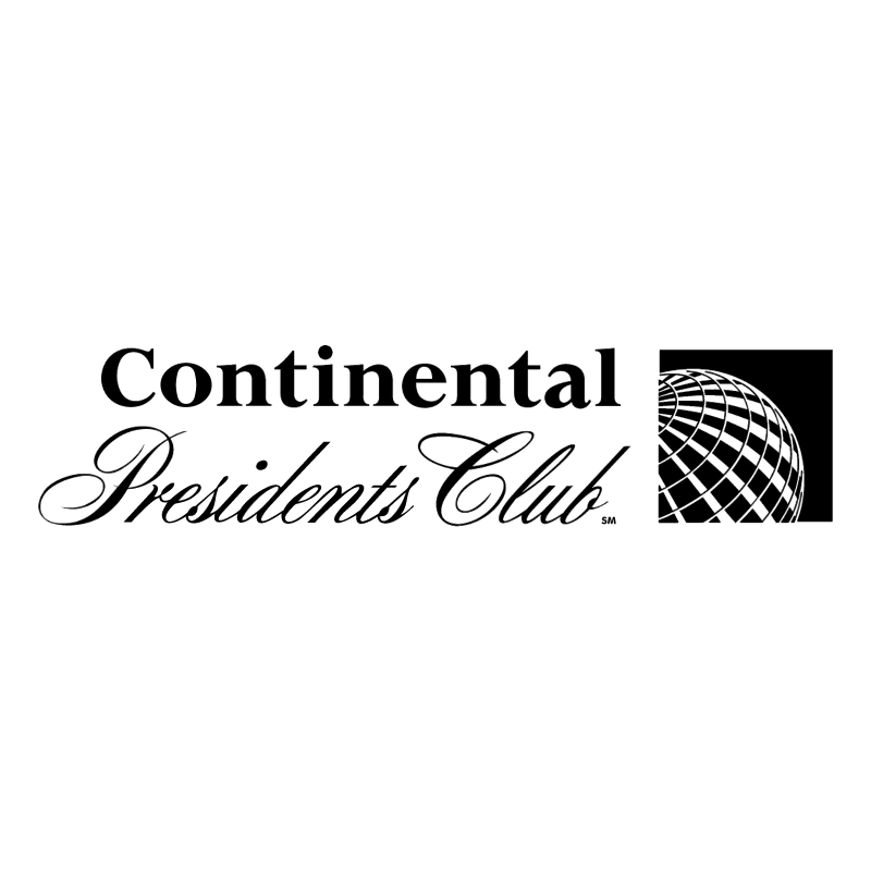 Continental Presidents Club vector