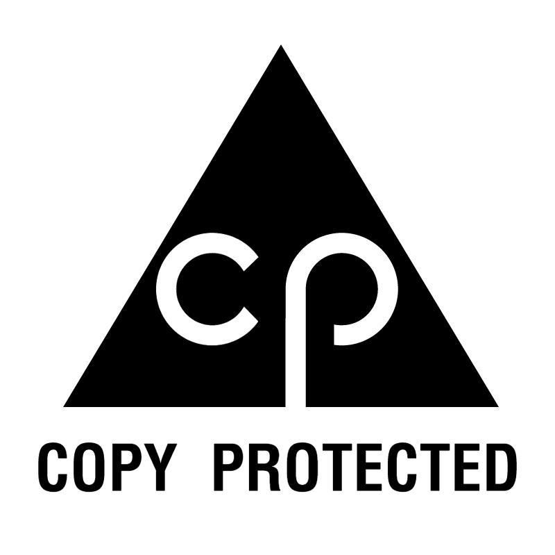 Copy Protected vector logo