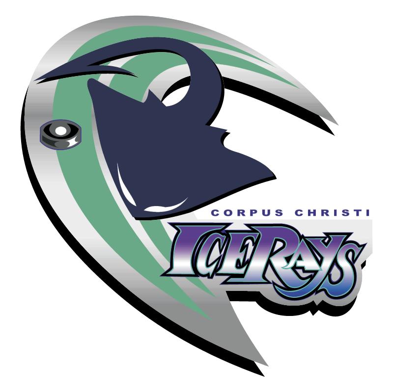 Corpus Christi Ice Rays vector