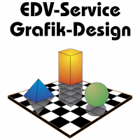EDV Service Grafik Design vector