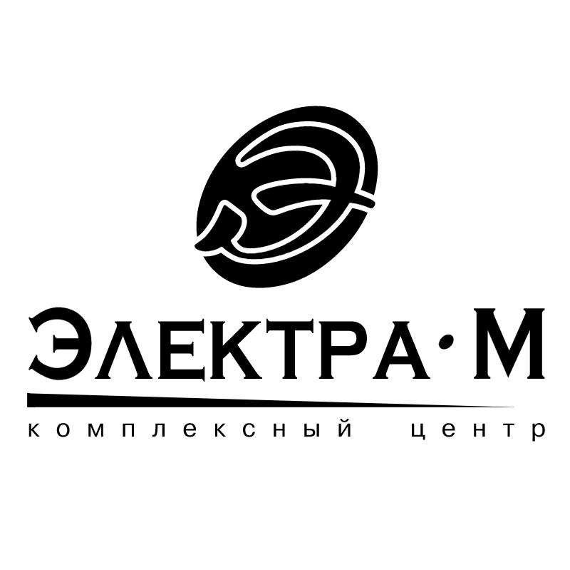 Electra M vector logo