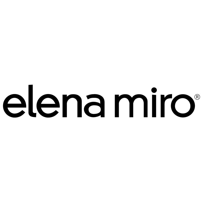 Elena Miro vector
