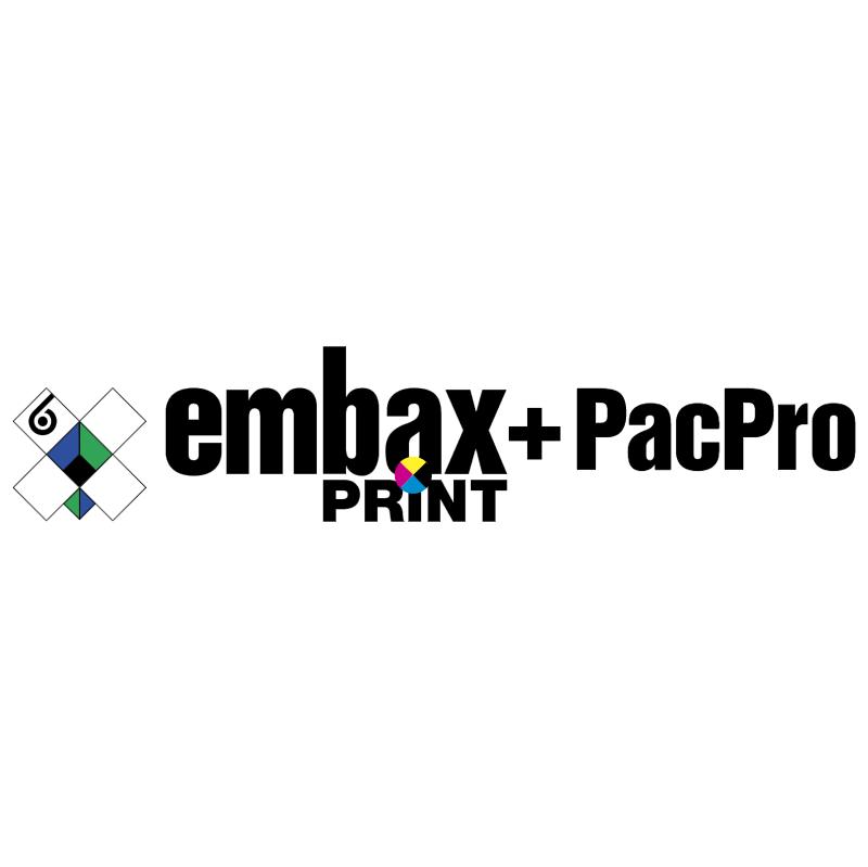 Embax Print + PacPro vector