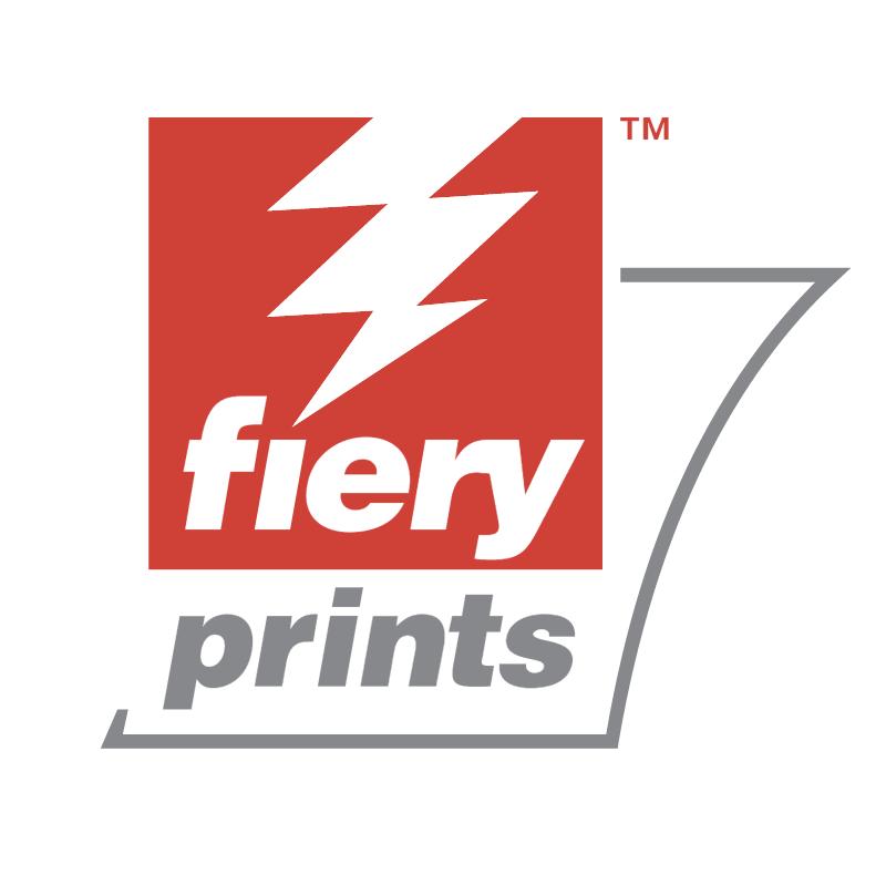 Fiery Prints vector logo