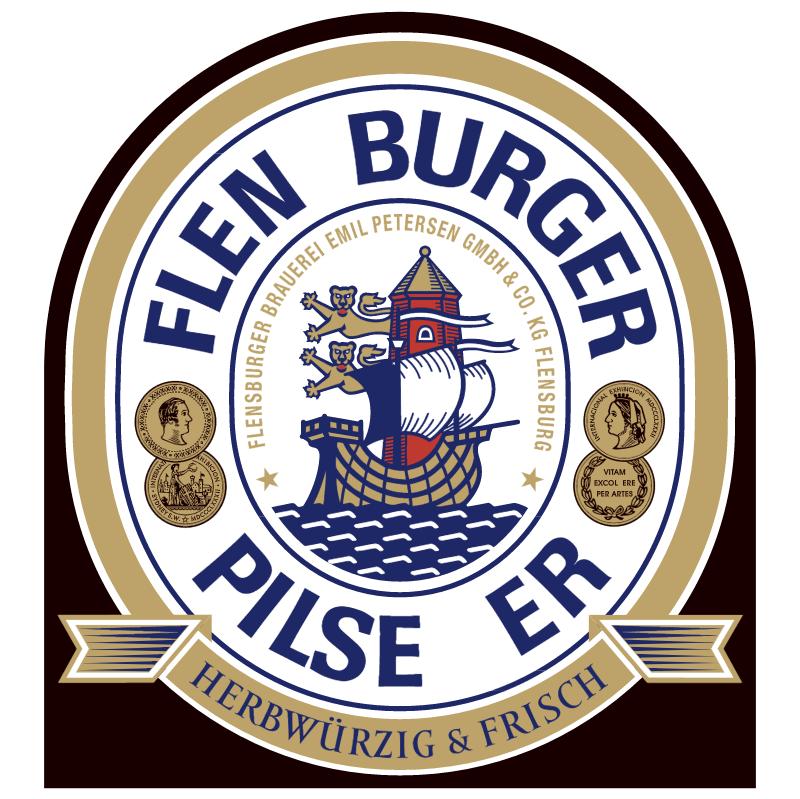 Flen Burger Beer vector