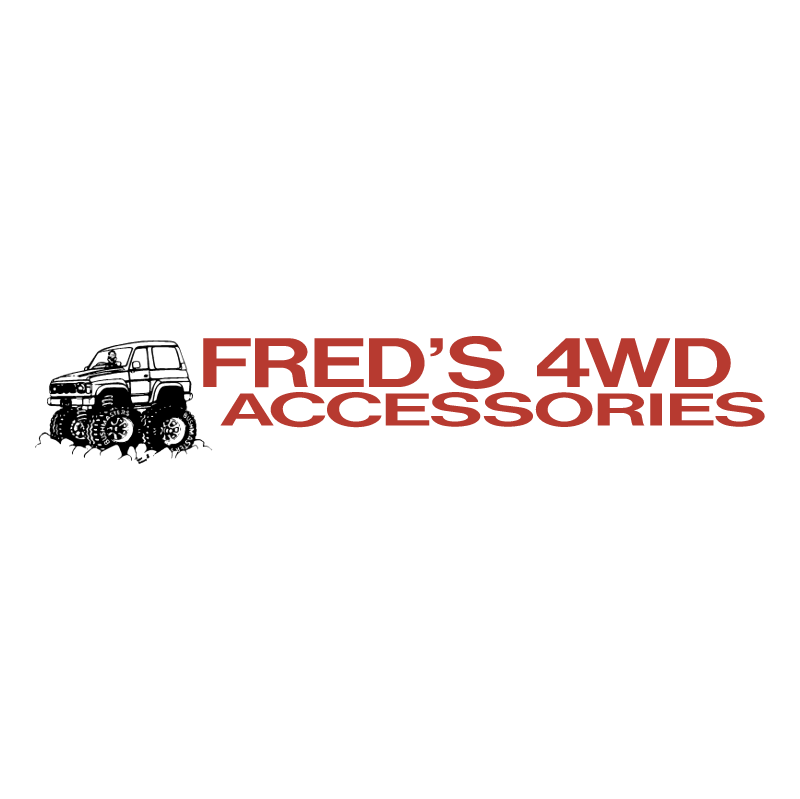 Fred's 4WD vector logo