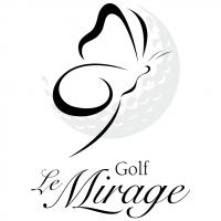 Golf Le Mirage vector