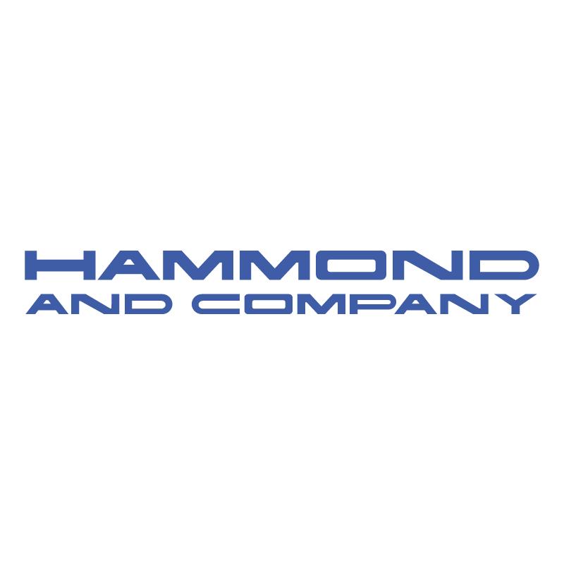 Hammond and company vector