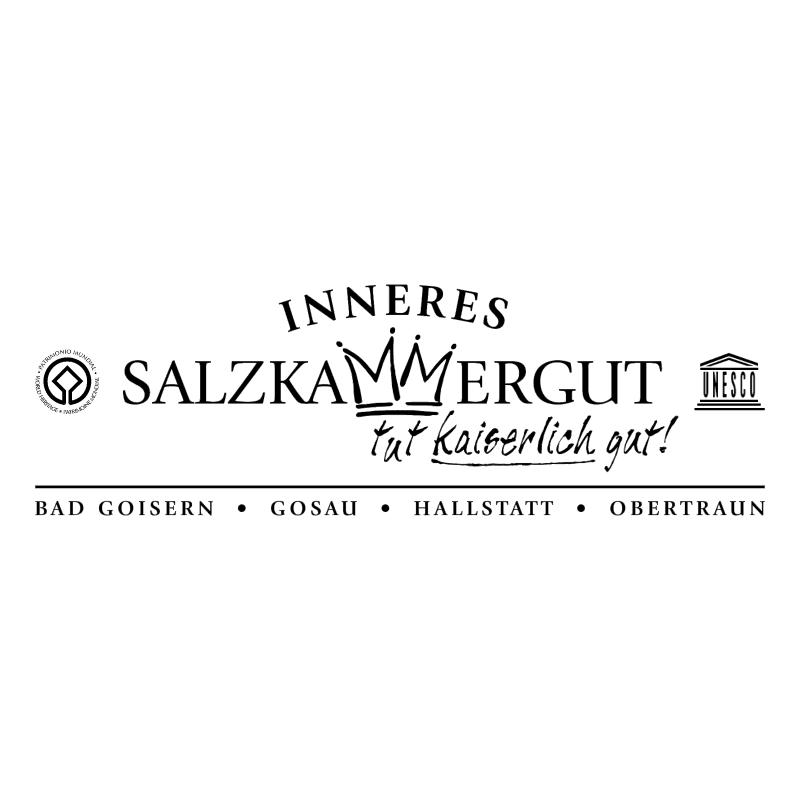 Inneres Salzkammergut vector