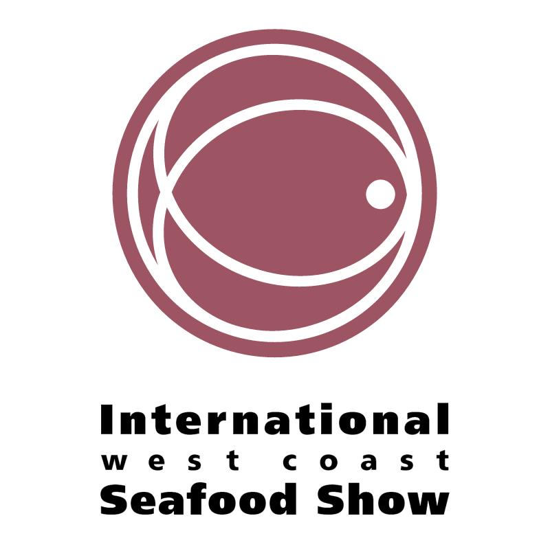 International West Coast Seafood Show vector