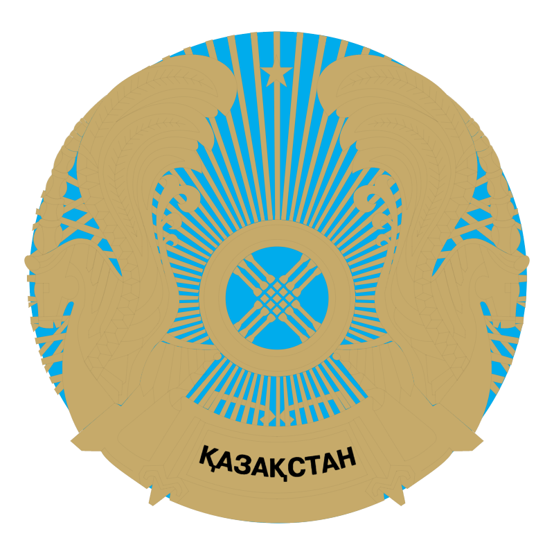 Kazakhstan vector logo