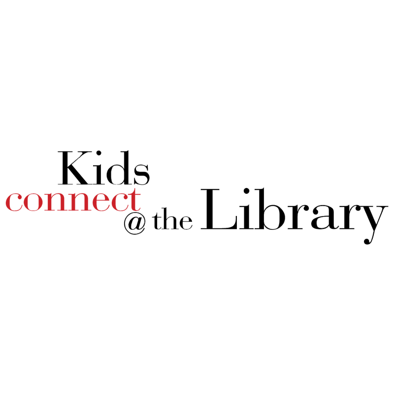 Kids Connect at the Library vector
