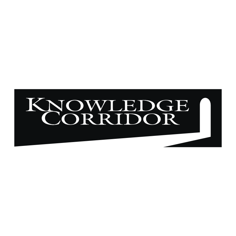 Knowledge Corridor vector