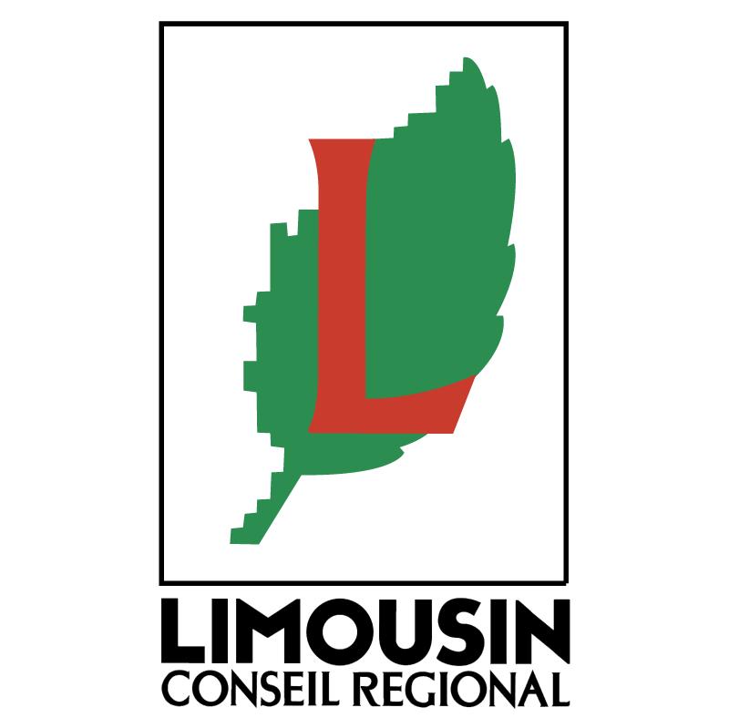 Limousin Conseil Regional vector