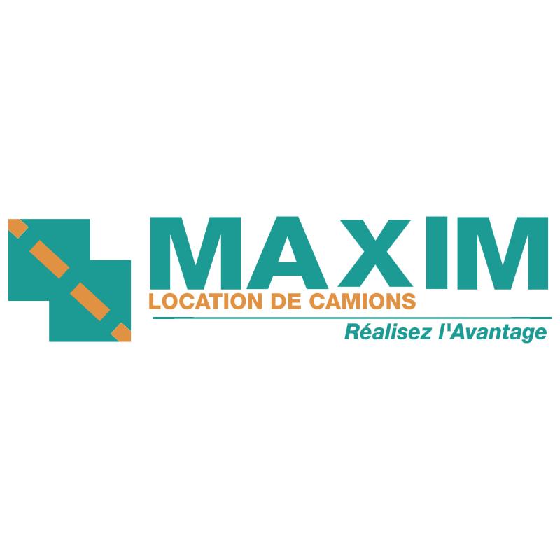 Maxim Location de Camions vector