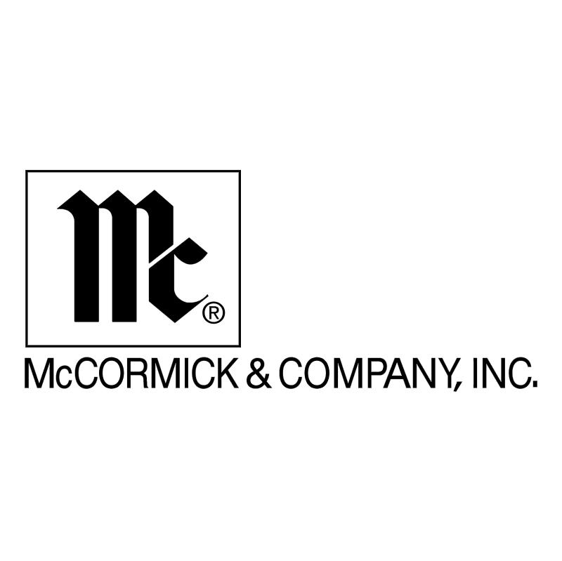 McCormick & Company vector