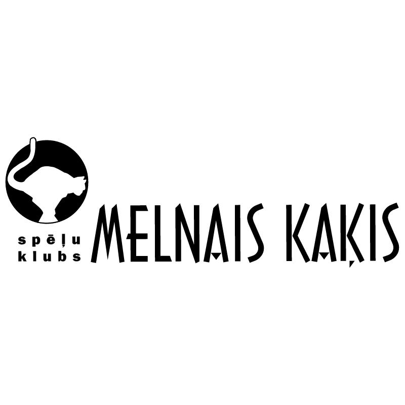 Melnais Kakis vector logo