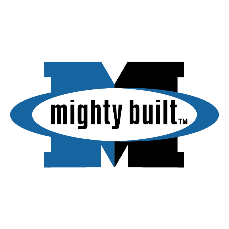 Mighty Built vector