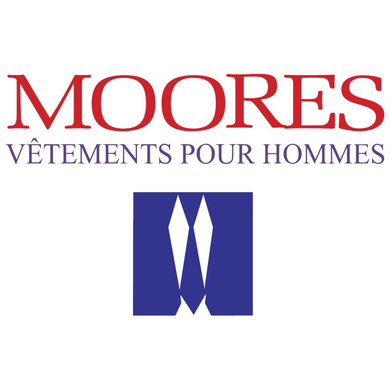 Moores Vetements pour hommes vector
