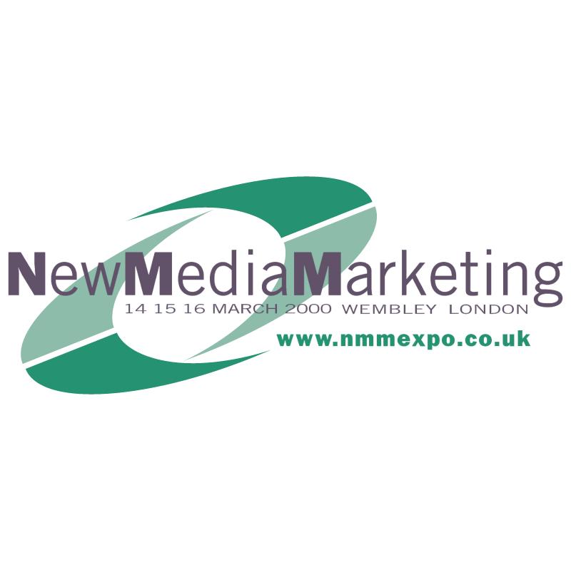 New Media Marketing vector