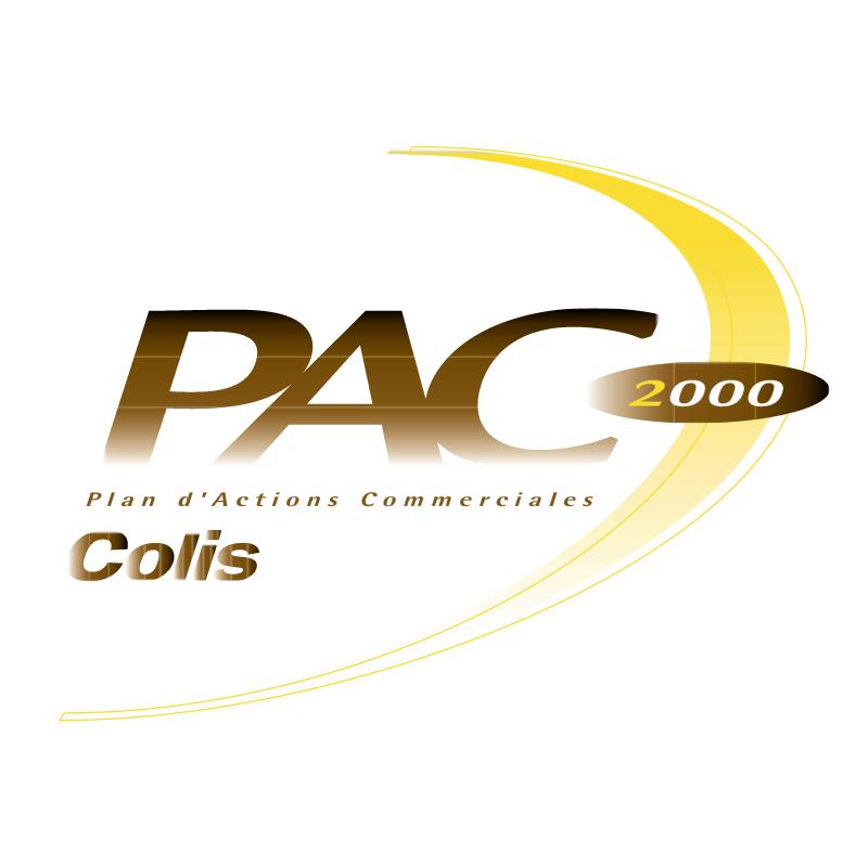 PAC Colis 2000 vector logo