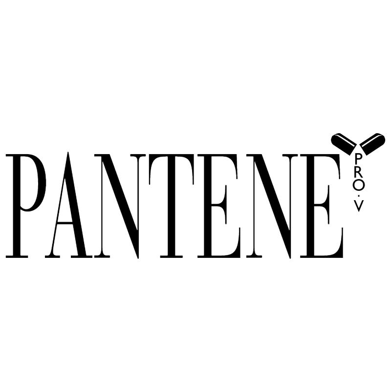 Pantene Pro V vector logo