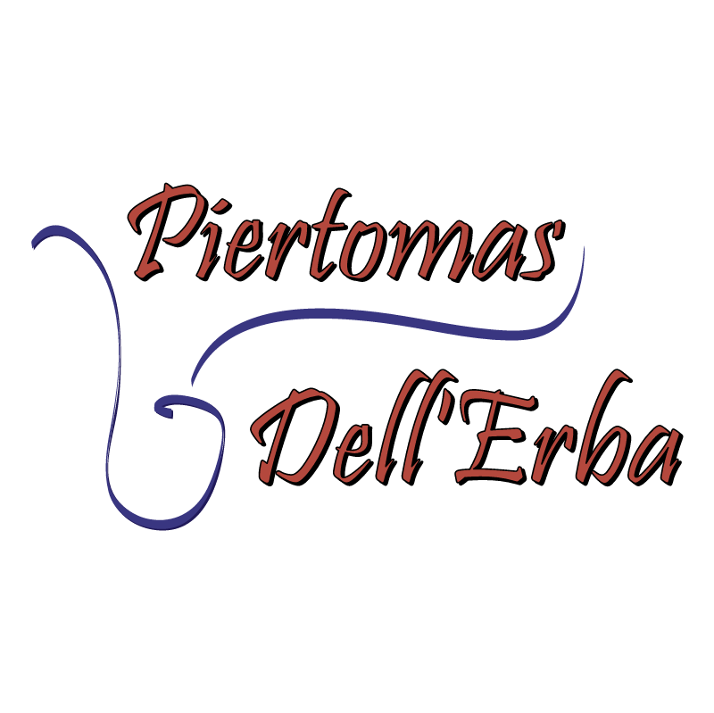 Piertomas Dell'Erba vector logo
