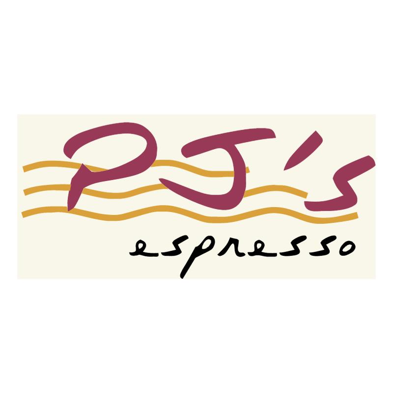PJ's espresso vector