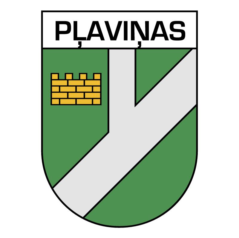 Plavinas vector logo