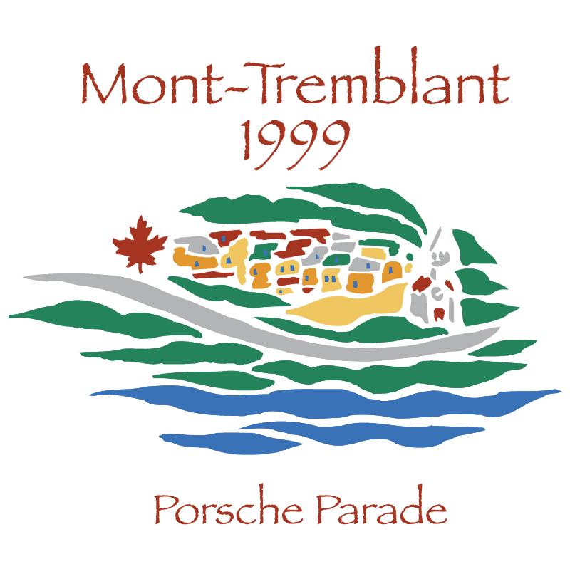 Porsche Parade Mont Tremblant 1999 vector