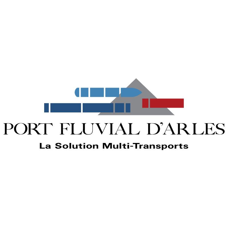 Port Fluvial d'Arles vector logo
