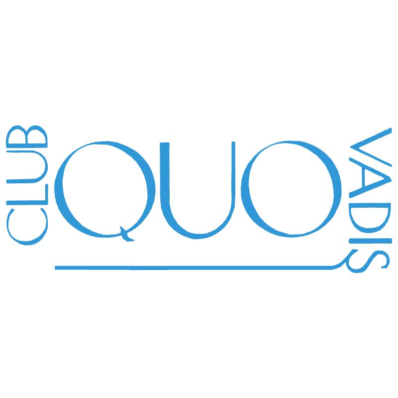 Quo Vadis Club vector