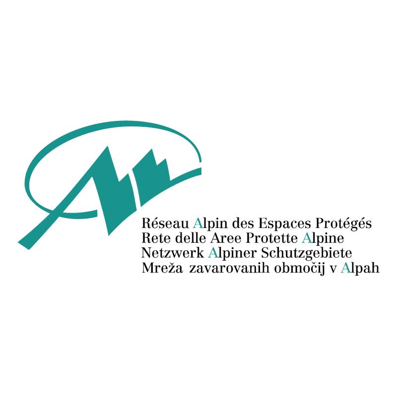 Reseau Alpin des Espaces Proteges vector