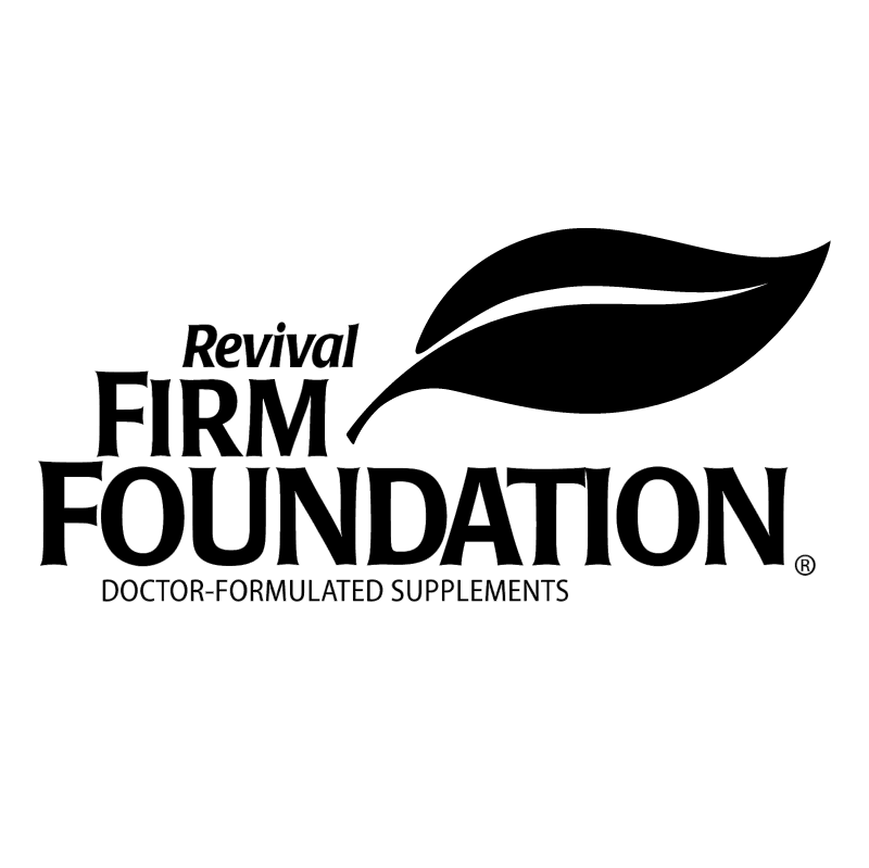 Revival Firm Foundation vector
