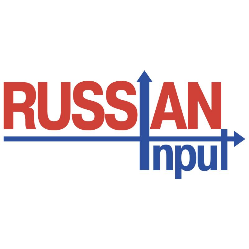 Russian Input vector