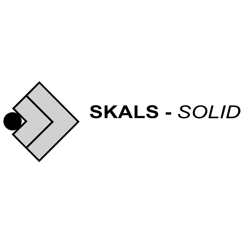 Skals Solid vector