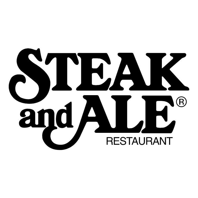 Steak and Ale vector logo