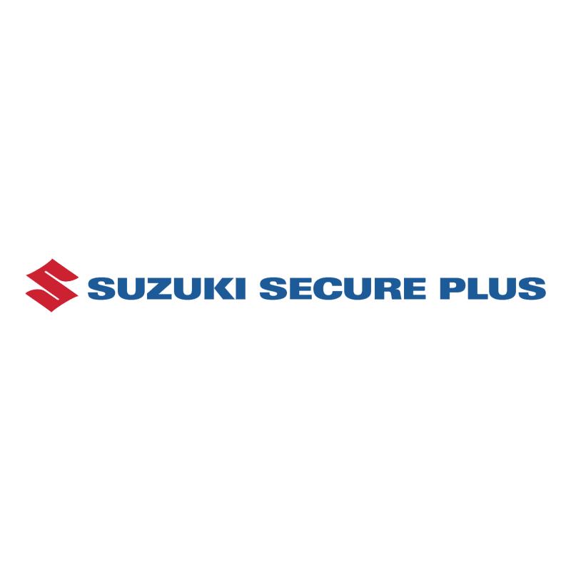 Suzuki Secure Plus vector