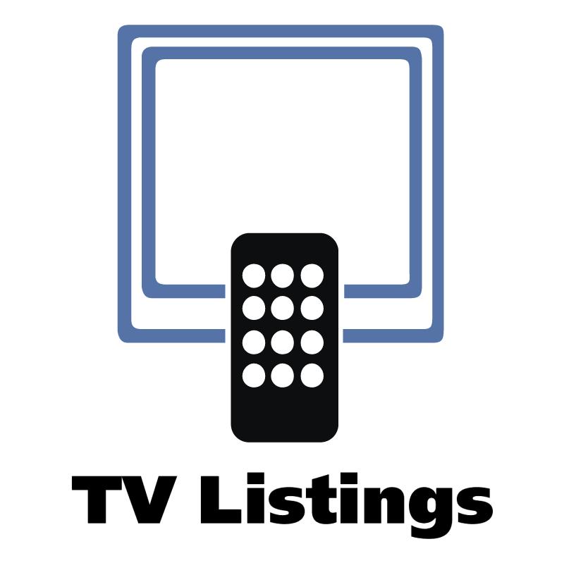 TV Listings vector