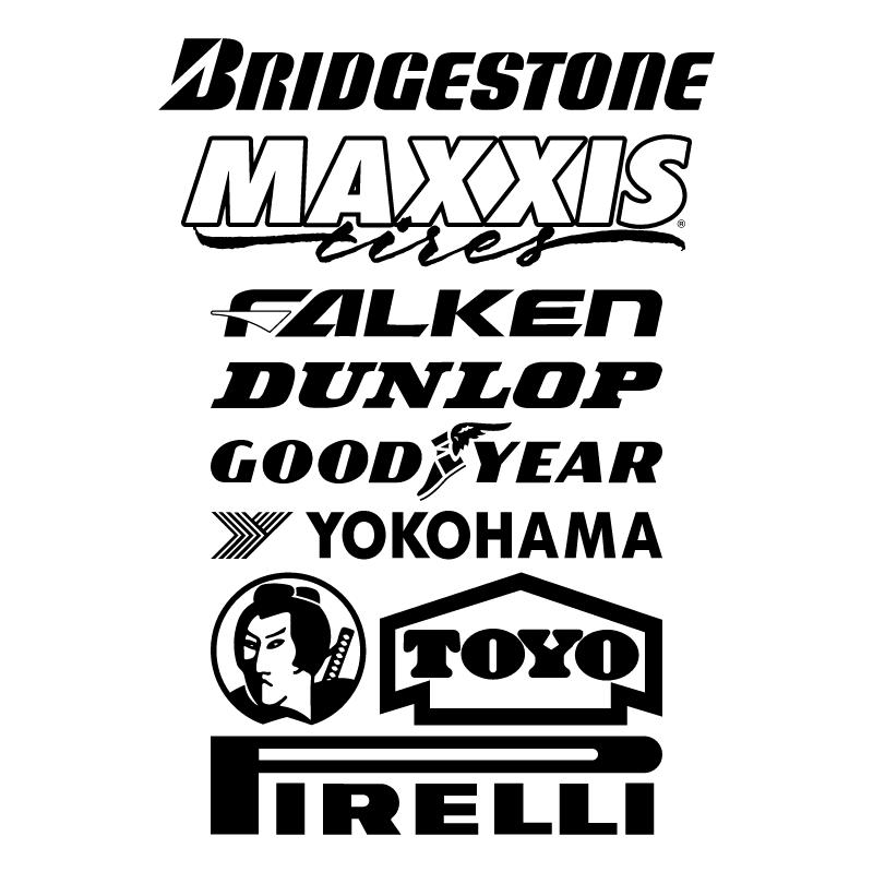 Tyre Logos vector