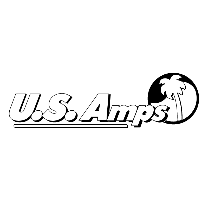 U S Amps vector