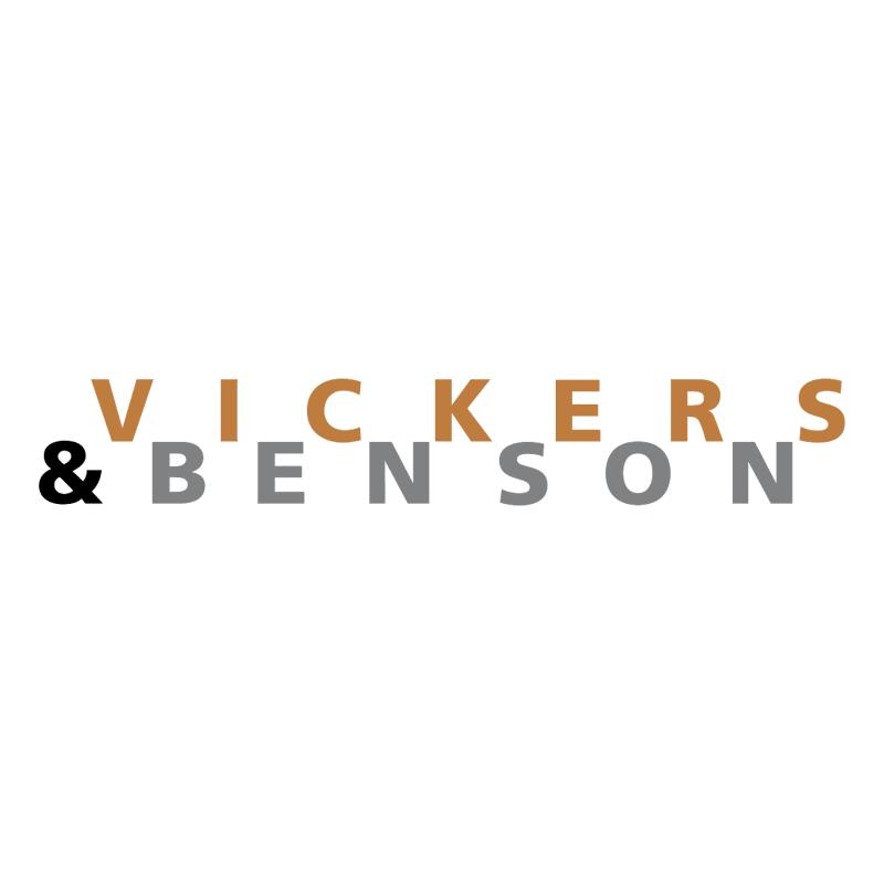 Vickers & Benson vector