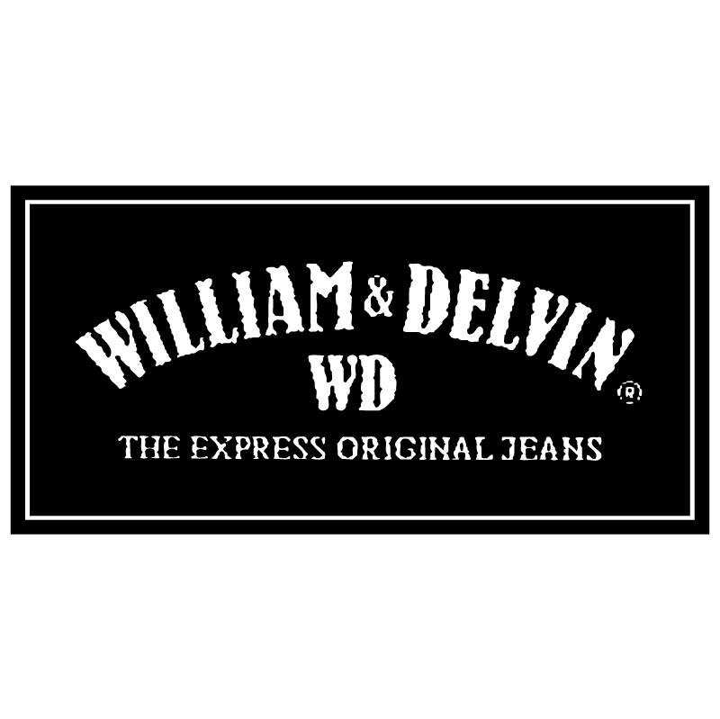 William & Delvin vector