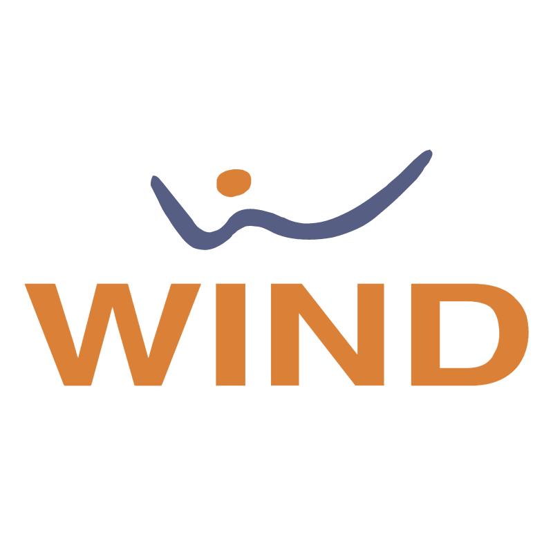 Wind vector logo