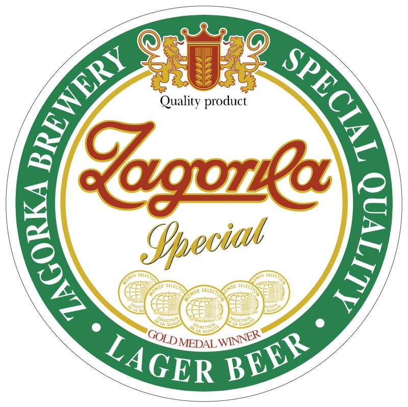 Zagorka vector logo